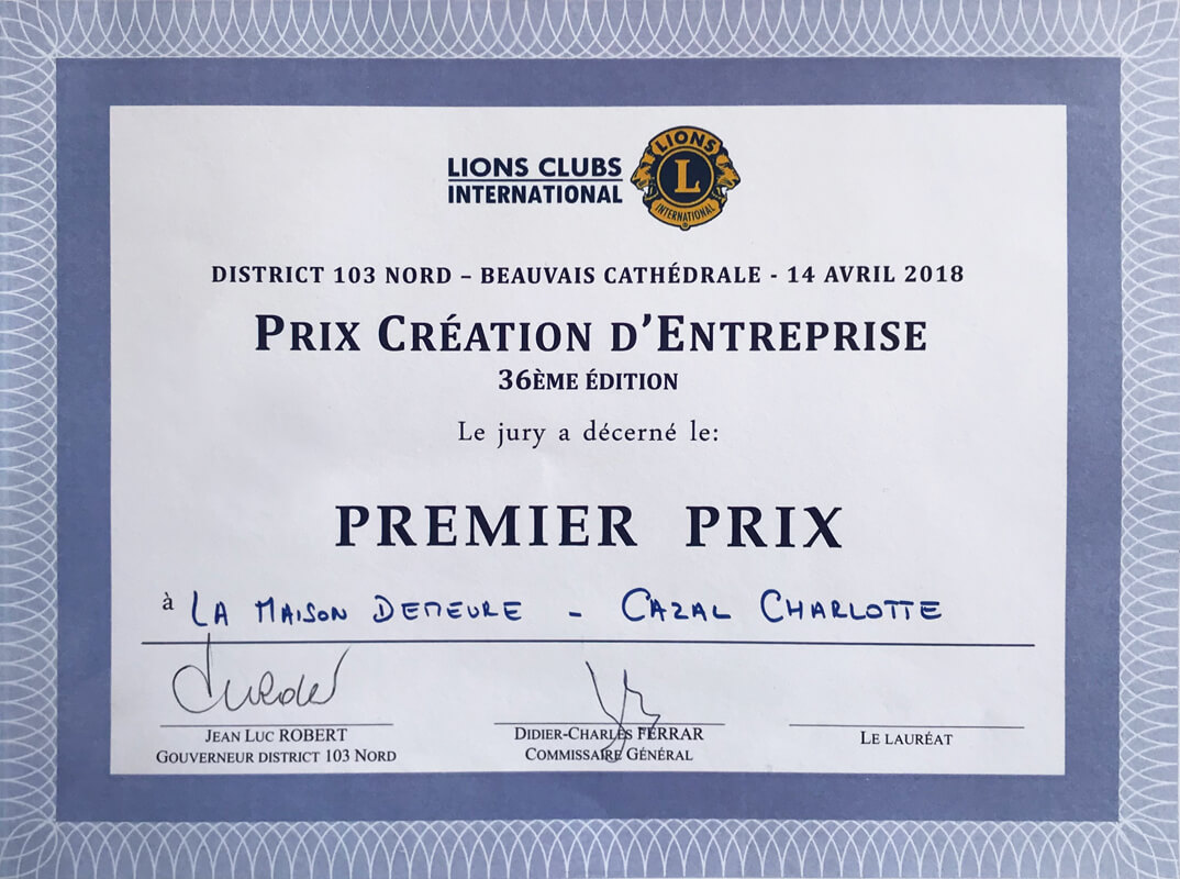 La Maison Demeure - Lions Club winning contest